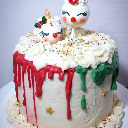 My very first Christmas cake