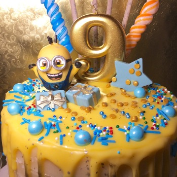 My first minion cake